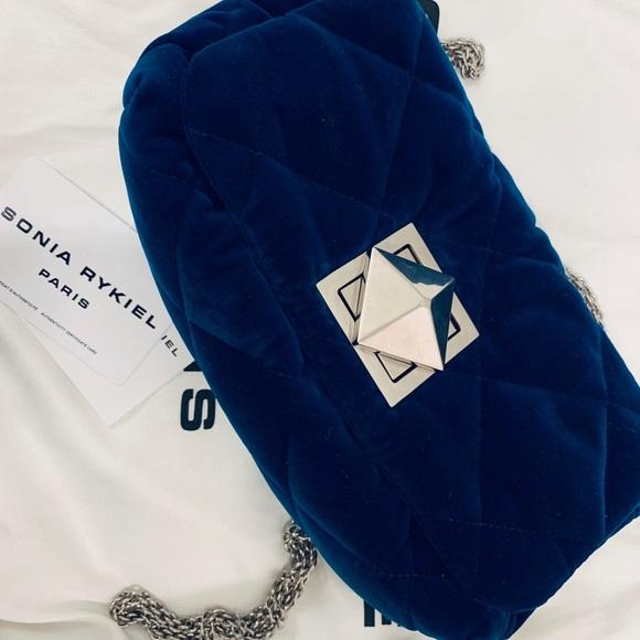 45b27d48ec Sonia Rykiel Bags   Le Copain Velvet Shoulder Bag   Poshmark
